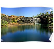 Manning Gorge Waterfall  Poster