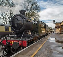 Paignton to Kingswear Railway Steam Engine by Nick Jenkins