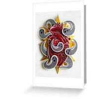 """Haunted Heart"" Greeting Card"