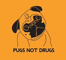 Pugs Not Drugs T-Shirt Unisex T-Shirt