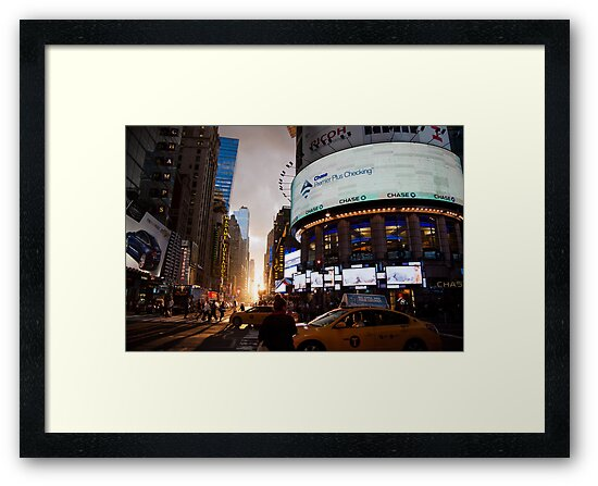 Manhattanhenge by Julia Caban