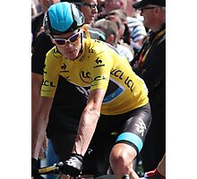 Chris Froome (2), Tour de France 2013 Photographic Print