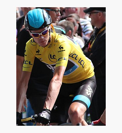 Chris Froome (2), Tour de France 2013 Photographic Print