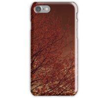 Firelight Tree iPhone Case/Skin