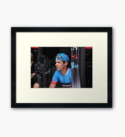 David Millar, Garmin-Sharp Framed Print