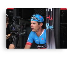 David Millar, Garmin-Sharp Canvas Print
