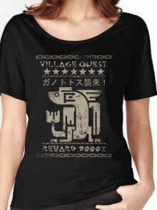 Monster Hunter Required - Plesioth Women's Relaxed Fit T-Shirt