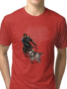 Mercenary Dog Tri-blend T-Shirt