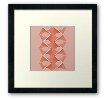 Concrete Vertebrae Framed Print