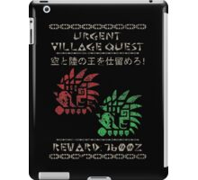 Monster Hunter Required - Rathalos and Rathian iPad Case/Skin