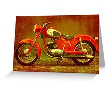 Puch  Greeting Card