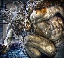 Dramatic Austrian Fountain by pixog