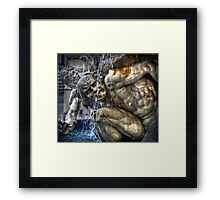 Dramatic Austrian Fountain Framed Print