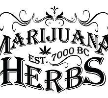Vintage Marijuana by TommyTsunami