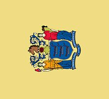 Smartphone Case - State Flag of New Jersey - Vertical by Mark Podger