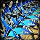 Bike Rentals - NYC by Robert Baker