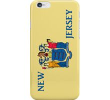 Smartphone Case - State Flag of New Jersey - Vertical II iPhone Case/Skin
