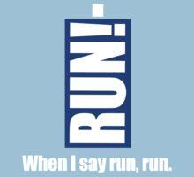 Run! Baby Tee