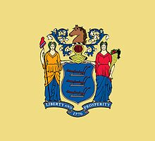 Smartphone Case - State Flag of New Jersey - Horizontal by Mark Podger