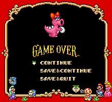 Game Over / Super Mario Bros. 2 by Studio Momo ╰༼ ಠ益ಠ ༽