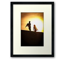 Persuit of Happiness Framed Print