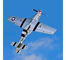 "P-51D Mustang 44-13521/5Q-B G-MRLL ""Marinell"" Looping Photographic Print"