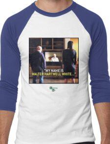 my name is Walter Hartwell White - confession - heisenberg Men's Baseball ¾ T-Shirt