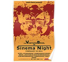 Sinema night Venture Bros Movie Poster