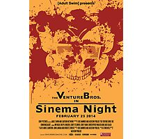 Sinema night Venture Bros Movie Photographic Print