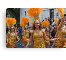 Notting Hill carnival in london Canvas Print