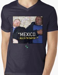 Mexico alls i'm sayn - Saul Guards Mens V-Neck T-Shirt