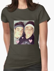 dolan twins !! Womens Fitted T-Shirt