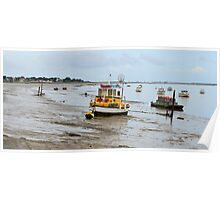 Port des Barques, Charente Maritime, France, atlantic coast Poster