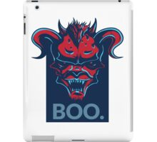 Scary Devil - Boo. iPad Case/Skin