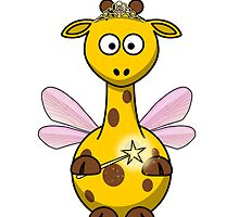 Fairy Giraffe Cartoon by kwg2200