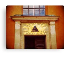 Secret Society Canvas Print