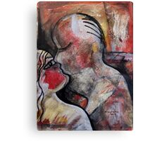 The Naked Kiss Canvas Print