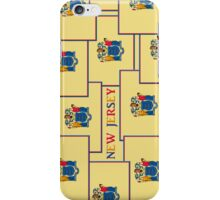 Smartphone Case - State Flag of New Jersey - Vertical V iPhone Case/Skin