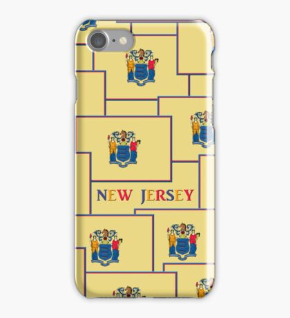 Smartphone Case - State Flag of New Jersey - Horizontal V iPhone Case/Skin