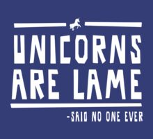 Unicorns are lame said no one ever by contoured