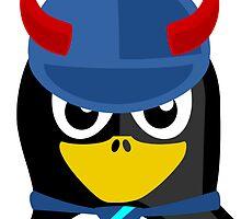 Evil Boss Penguin by kwg2200