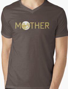 Mother Logo Mens V-Neck T-Shirt