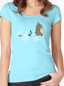 Neighbor's Road Women's Fitted Scoop T-Shirt