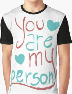 My person Graphic T-Shirt
