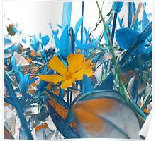 Fantasy Garden - Color Contrast Poster