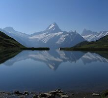 Swiss lake by Rob Frith