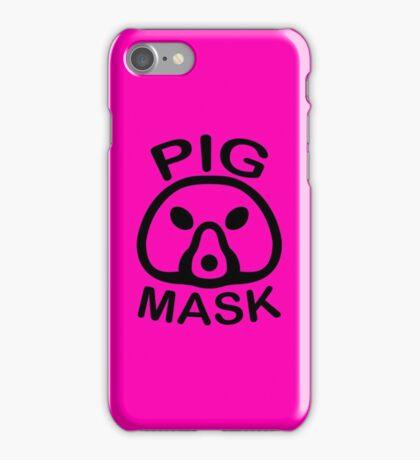 Pigmask (Black) iPhone Case/Skin