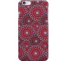 Circular Seasons - Red iPhone Case/Skin