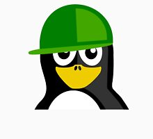 Green Hat Penguin T-Shirt