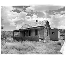 Home on the Range--Ruined Homestead in Cuervo, New Mexico, Take 2 Poster